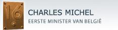 Website van CHARLES MICHEL, Eerste Minister van België
