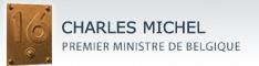 Site web de CHARLES MICHEL, Premier Ministre de la Belgique